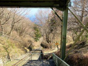 筑波山 ケーブルカー線路