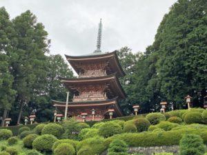 永林寺 三重塔