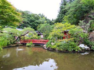 弁天堂 庭園