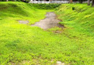 神岡城 遺構2