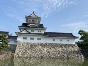 富山城 浮城