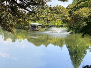 高岡古城公園 中の島