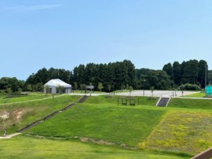 朝日山公園 駐車場2