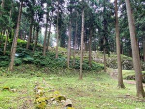 調度丸から桜馬場の石垣