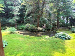 池泉回遊式庭園1