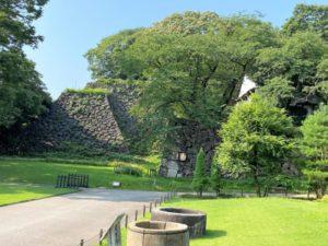金沢城 石垣2