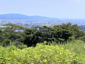 河村城跡からの眺め