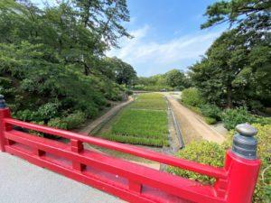 小田原城 常盤木門への橋