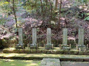 北条五代の墓(早雲寺)