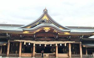 寒川神社 社殿