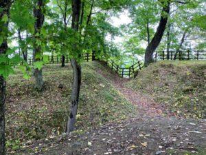 A郭とB郭の間の壕2