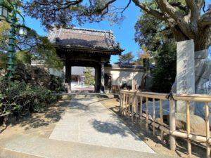 本覺寺 アメリカ領事館跡