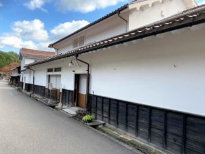 熊谷家住宅 塀