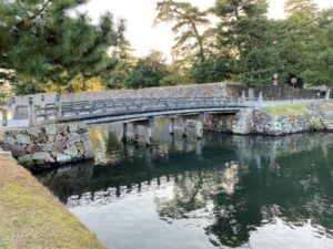 松江城 北惣門橋