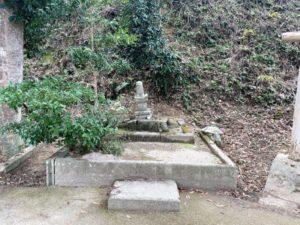 塩冶興久(えんやおきひさ・尼子興久)の墓