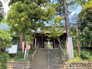 吉見観音(安楽寺) 山門
