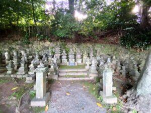 城願寺にある土肥一族の墓