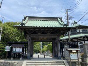 妙本寺 総門