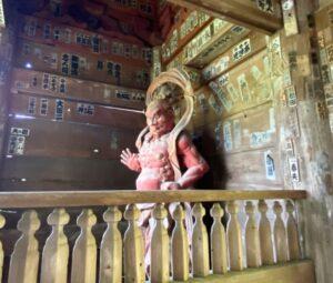 杉本寺 仁王像1