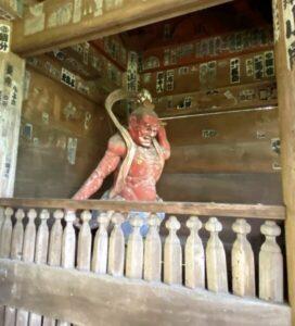 杉本寺 仁王像2