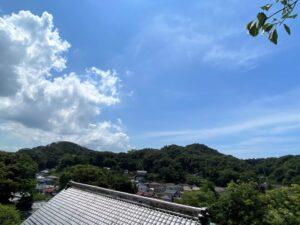 杉本寺からの眺め