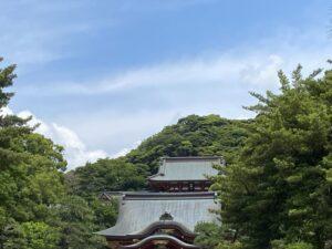 鶴岡八幡宮(遠景)