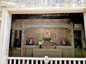 海蔵寺 薬師堂(仏殿)内部