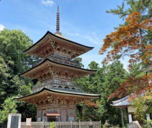 安楽寺 三重塔