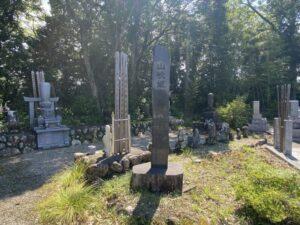 山吹御前の墓の目印