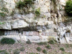 岩殿観音 石仏