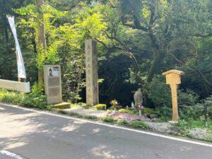 渋沢平九郎 終焉の地