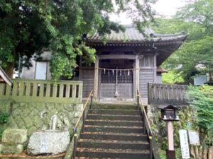 河津三郎佑泰館跡(河津八幡神社)