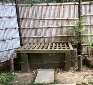 伝義経首洗い井戸
