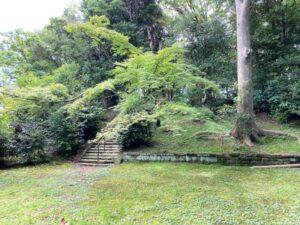 弁慶塚のある中横須賀公園
