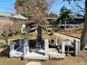 南部右馬頭茂時の墓
