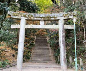 明王院 愛宕神社への入り口