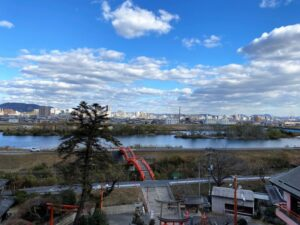 芦田川と福山市街