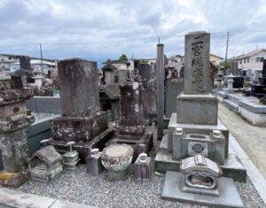 二宮尊徳とその一族の墓