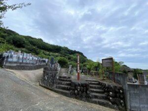満江御前の墓 周辺