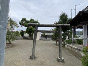 八幡神社のある公園