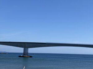 岩海岸 岩大橋